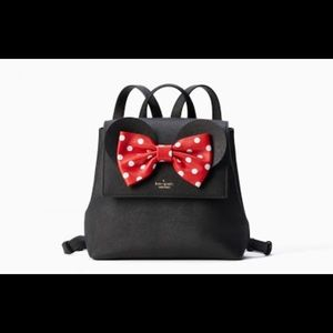 Kate Spade x Minnie Mouse Neema Bow Backpack Tote